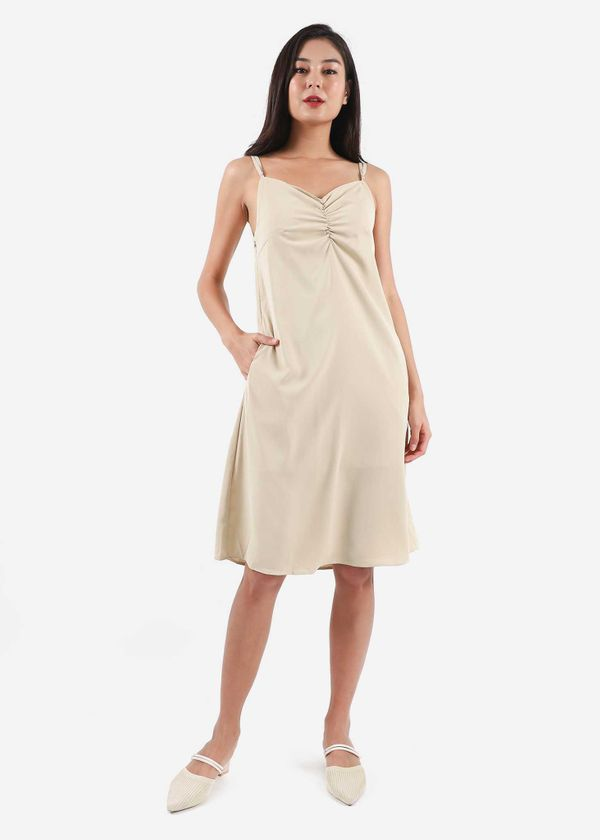 Gracia Ruched Dress #6stylexclusive