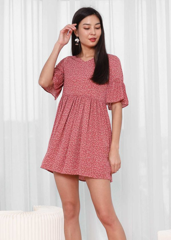 Casey Babydoll Floral Dress #6stylexclusive