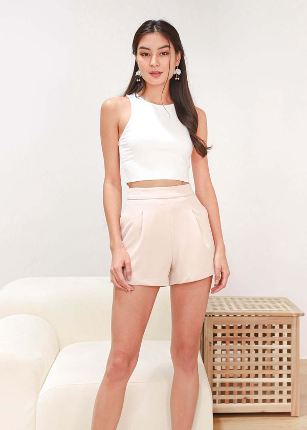 Everyday Shorts in Beige V2 #6stylexclusive
