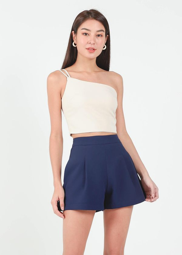 Chloe Double Strap Toga Top in Nude #6stylexclusive