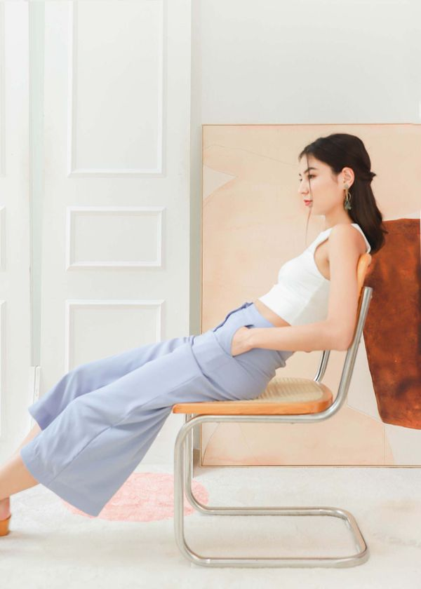 Kyra Culottes in Periwinkle #6stylexclusive