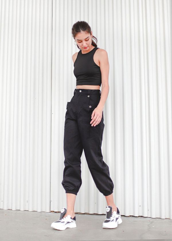 Undefined Cargo Pants in Black