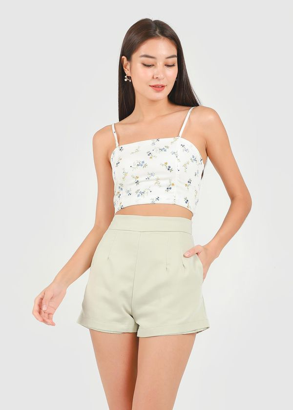Kyra Shorts in Sage #6stylexclusive