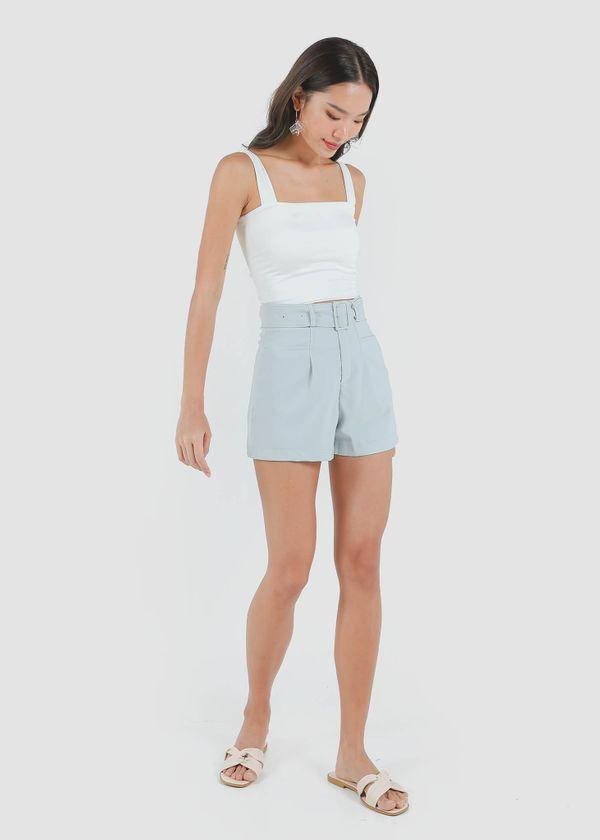 Caden Highwaist Shorts in Seafoam #6stylexclusive