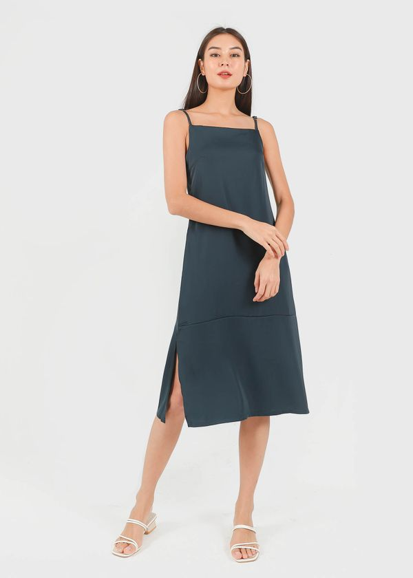 Escape Tent Dress in Marine Green #6stylexclusive