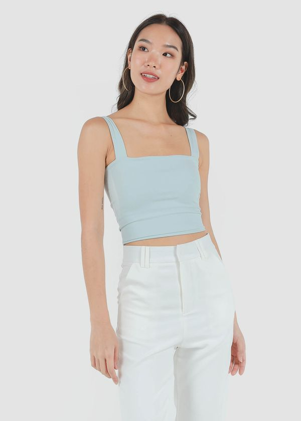 Roxy Square Padded Top in Seafoam #6stylexclusive