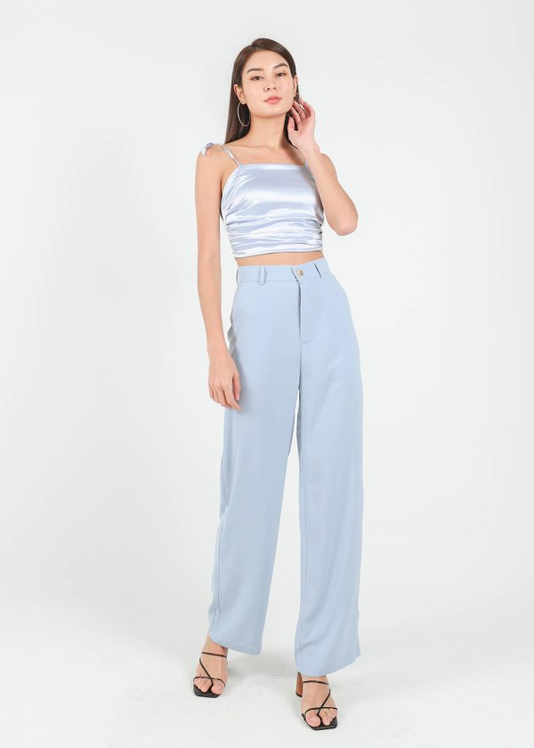 Cee Straight Cut Pants in Baby Blue