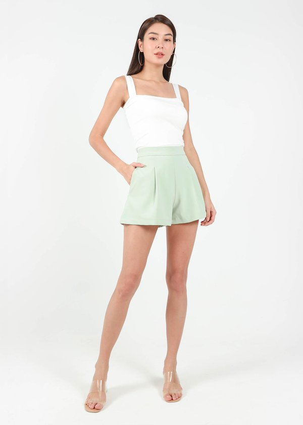Everyday Shorts in Apple Green V1 #6stylexclusive