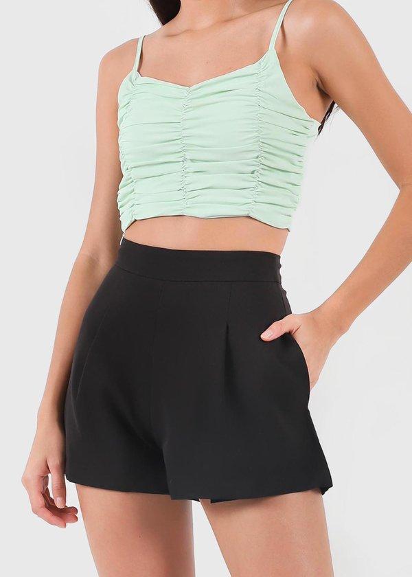 Everyday Highwaist Shorts in Black V1 #6stylexclusive
