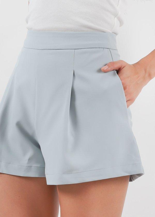 Everyday Highwaist Shorts in Seafoam Blue V1 #6stylexclusive