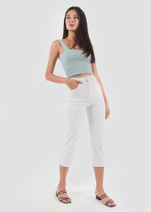 Relaxed Jeans in White #6stylexclusive