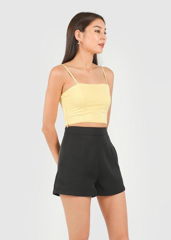 Kyra Shorts in Black #6stylexclusive