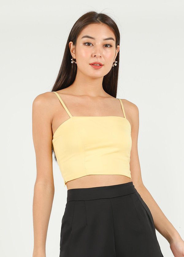 Mellow Top in Sunshine Yellow #6stylexclusive