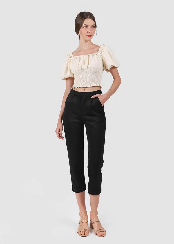 Ford Straight Cut Pants in Black #6stylexclusive